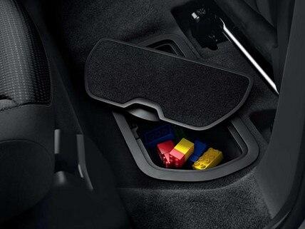 Vano portaoggetti  posteriore sotto i piedi - Nuovo PEUGEOT Partner Tepee Electric