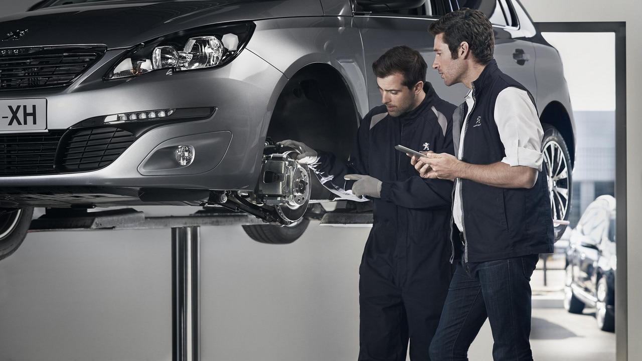 Peugeot 5008 Configuratore >> Service Peugeot   Forfait di manutenzione Ammortizzatori
