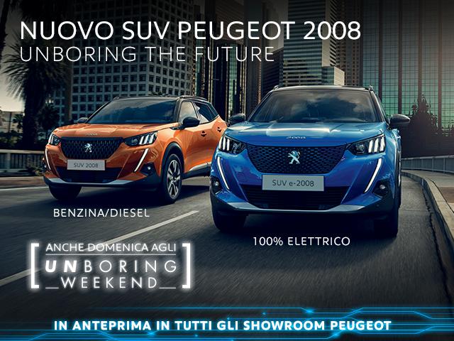 Nuovo SUV Peugeot 2008