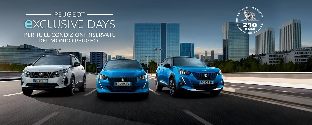 EXCLUSIVE DAYS PEUGEOT