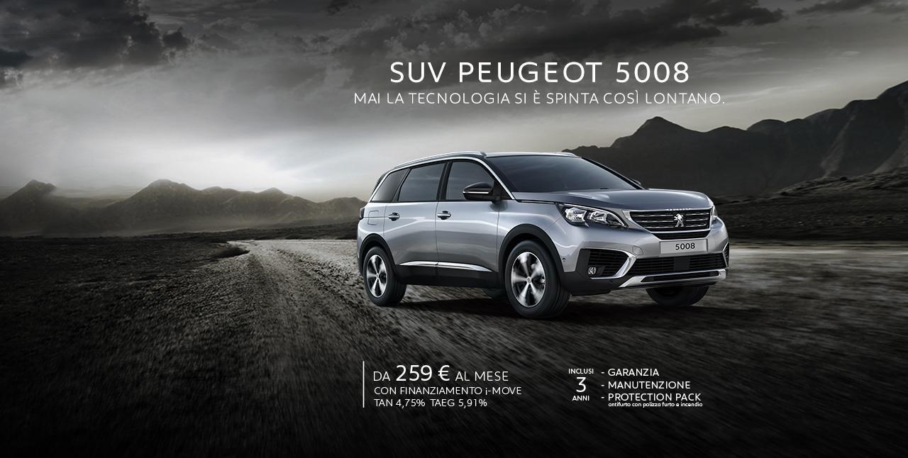 Peugeot 5008 Header