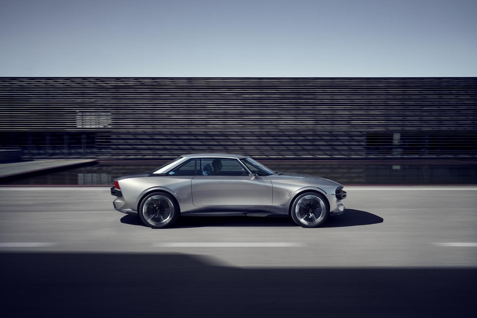 Foto E Video Della Peugeot E Legend Concept