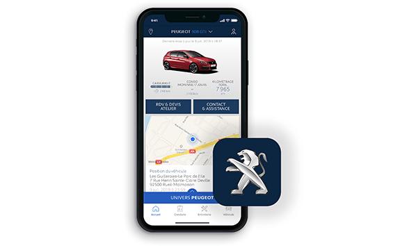 PEUGEOT 308 GTi– MyPeugeot app