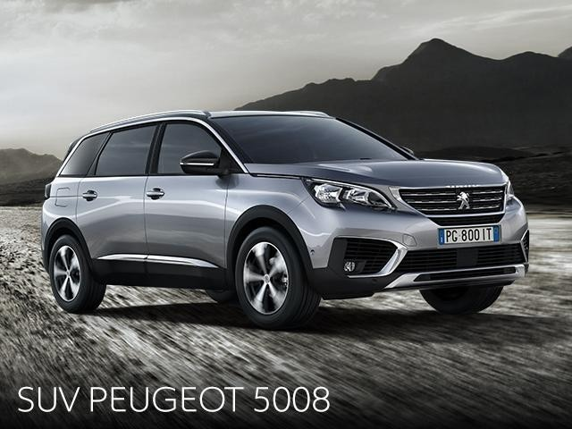 SUV 5008 promozione gennaio