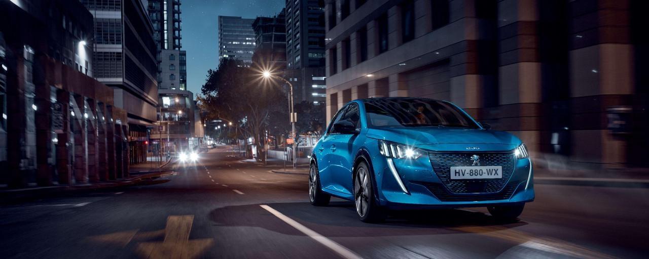Peugeot elettrica