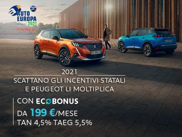 Nuovo SUV Peugeot e-2008