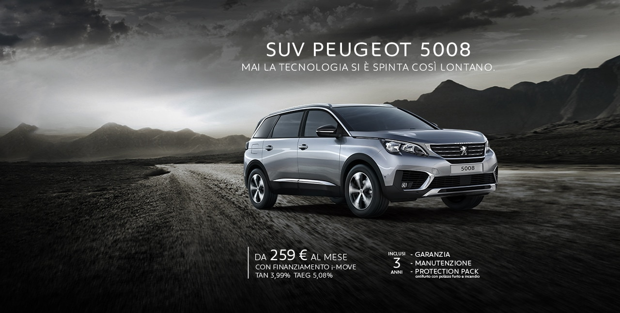 Peugeot 5008 Configuratore >> Nuovo SUV PEUGEOT 5008 | Prova il SUV 7 posti Peugeot