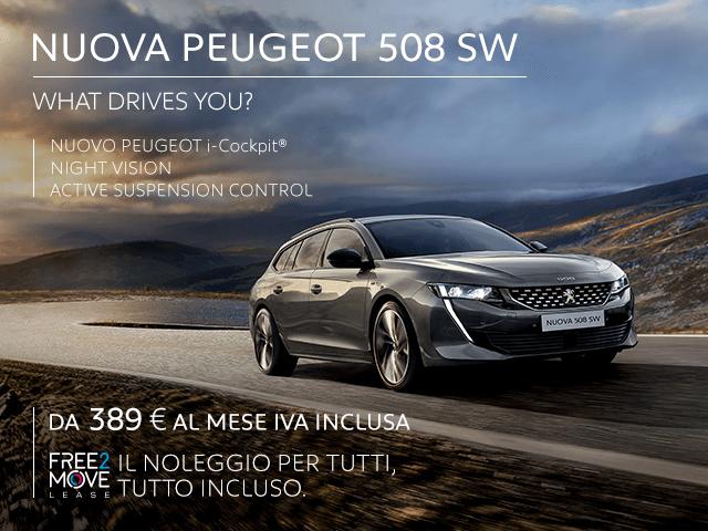 NUOVA PEUGEOT 508 SW