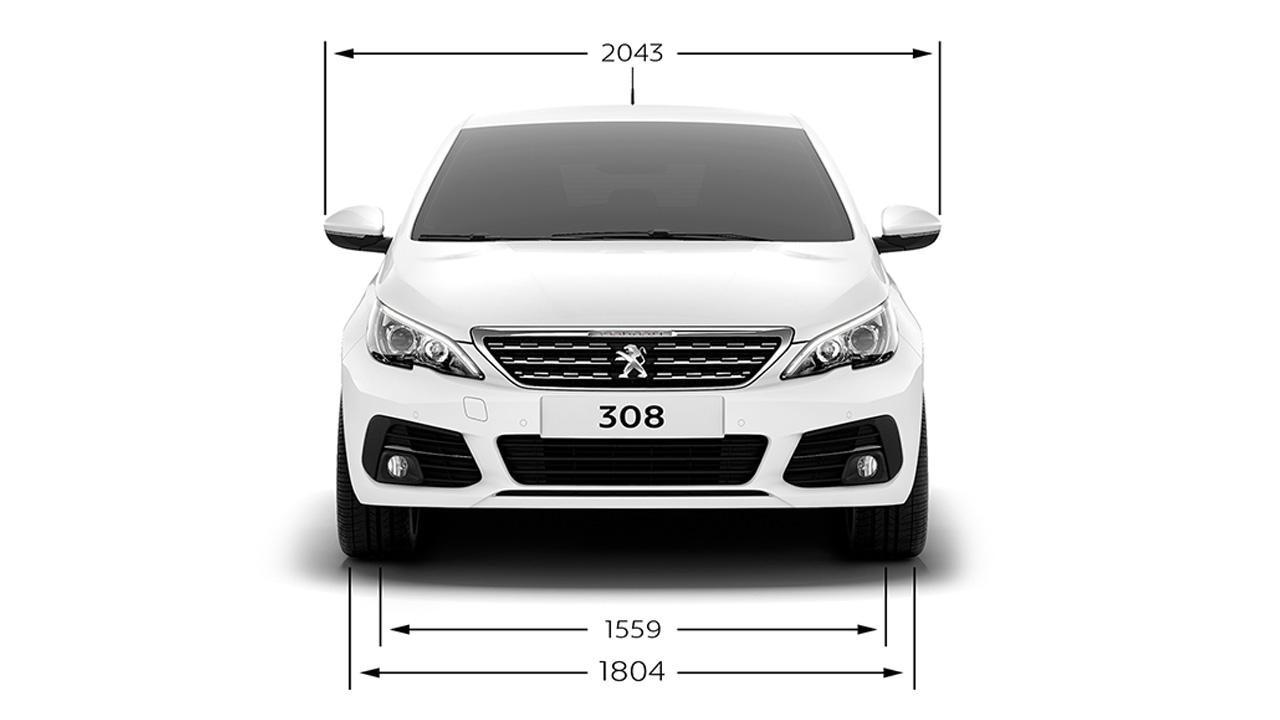 Peugeot 5008 Configuratore >> PEUGEOT 308 | Scheda tecnica, dimensioni, motorizzazioni.