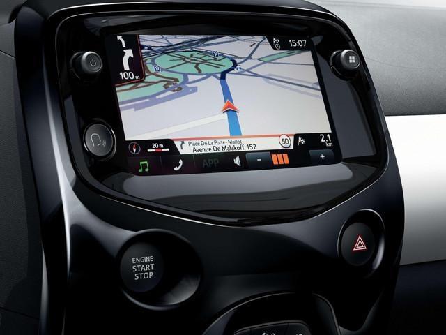 Peugeot 108 - Touch screen e navigazione