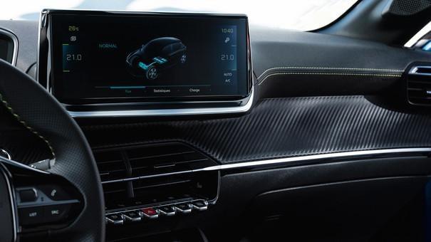 "NUOVA PEUGEOT 208 – Touchscreen 10"" HD"
