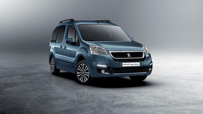 3/4 frontale - Nuovo PEUGEOT Partner Tepee Electric